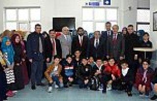 """160 Kuran Kursu Öğrencisi """"Dedeciğim Ben Geldim""""..."""