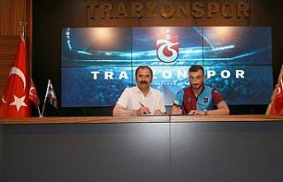Trabzonspor, Nemanja Andusic ile sözleşme imzaladı