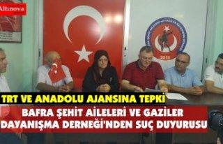 BAFRA ŞEHİT AİLELERİ VE GAZİLER DAYANIŞMA DERNEĞİ'NDEN...
