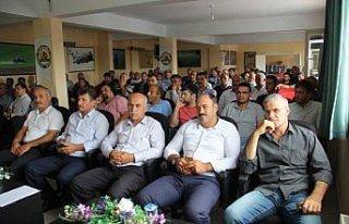 Bafra'da kırsal kalkınma yatırımları anlatıldı