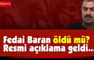 Emine Bulut'u katleden Fedai Baran öldü mü?...