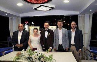 Engellilerin nikahını Belediye Başkanı Eroğlu...