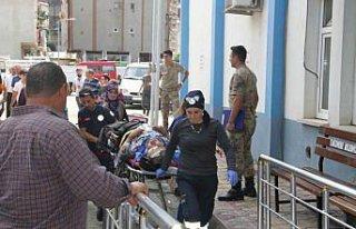 Giresun'da otomobil ile kamyonet çarpıştı: 7 yaralı
