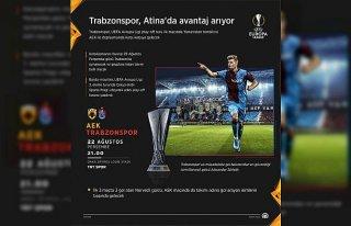 GRAFİKLİ - Trabzonspor, Atina'da avantaj arıyor