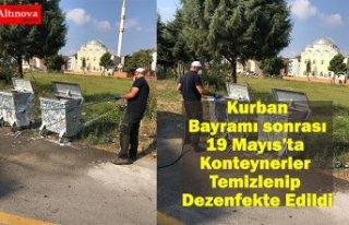 Kurban Bayramı sonrası 19 Mayıs'ta Konteynerler...