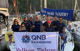 QNB Finansbank Yelken Takımı'ndan Olympos Regatta...