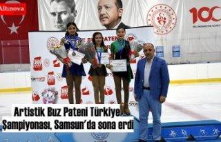 Artistik Buz Pateni Türkiye Şampiyonası,Samsun'da...