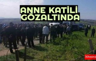ANNE KATİLİ GÖZALTINDA