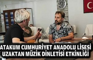 ATAKUM CUMHURİYET ANADOLU LİSESİ UZAKTAN MÜZİK...