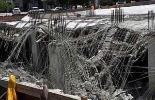 Ordu'da çökme meydana gelen otel inşaatında yaralanan...