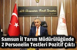Samsun İl Tarım Müdürülüğünde 2 Personelin...