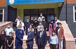 Alaplı Atatürk Ortaokulu'na