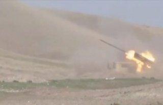 Azerbaycan'ın Ermenistan işgalinden kurtulma operasyonu...