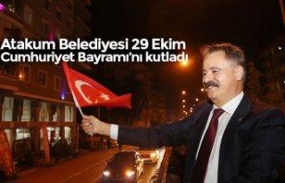 Atakum Belediyesi 29 Ekim Cumhuriyet Bayramı'nı...