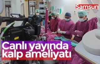 Canlı yayında kalp ameliyatı