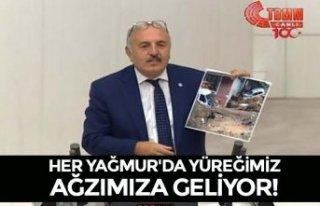 HER YAĞMUR'DA YÜREĞİMİZ AĞZIMIZA GELİYOR!