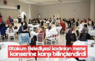 Atakum Belediyesi kadınları meme kanserine karşı...