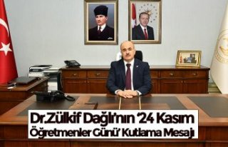Dr.Zülkif Dağlı'nın '24 Kasım Öğretmenler...