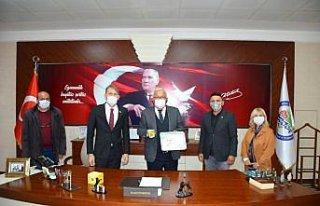 LÖSEV il temsilcisinden Ereğli Belediyesi'ne ziyaret