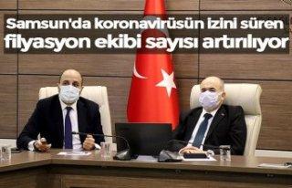 Samsun'da koronavirüsün izini süren filyasyon...