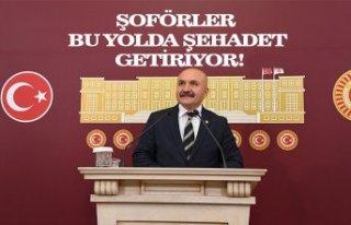 ŞOFÖRLER BU YOLDA ŞEHADET GETİRİYOR!