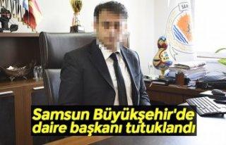 Samsun Büyükşehir'de daire başkanı tutuklandı