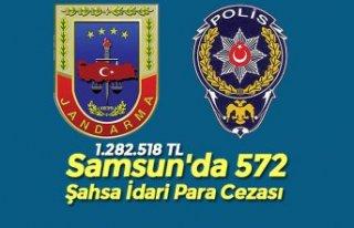 Samsun'da 572 Şahsa İdari Para Cezası