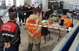 Samsun'da itfaiye personeline eğitim