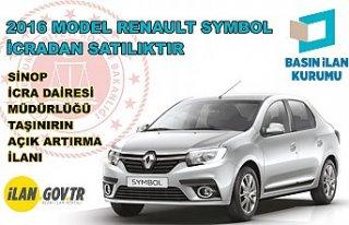 2016 model Renault Symbol icradan satılıktır.