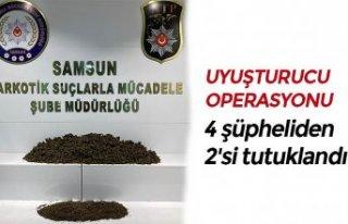 4 şüpheliden 2'si tutuklandı