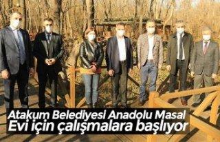 Atakum Belediyesi Anadolu Masal Evi için çalışmalara...