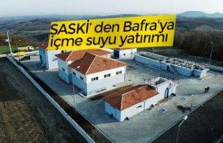 SASKİ' den Bafra'ya içme suyu yatırımı