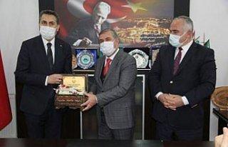 Tokat ve Erfelek belediyeleri arasında kardeşlik...