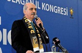AK Parti Genel Başkanvekili Numan Kurtulmuş'tan...