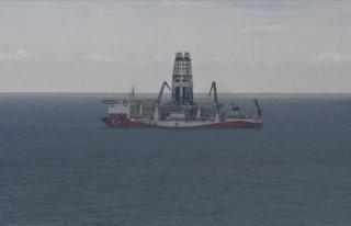 Karadeniz'de Türkali-2 kuyusunda sondaj derinliği...