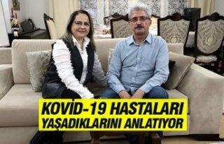 KOVİD-19 HASTALARI YAŞADIKLARINI ANLATIYOR