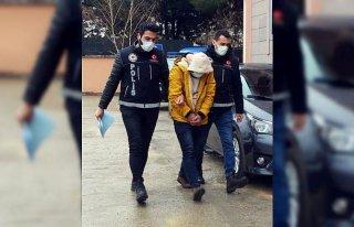 Amasya'da uyuşturucu operasyonunda yakalanan...