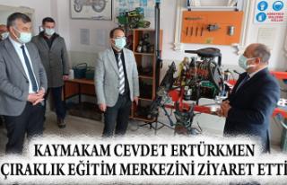 KAYMAKAM CEVDET ERTÜRKMEN ÇIRAKLIK EĞİTİM MERKEZİNİ...