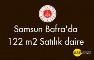 Samsun Bafra'da 122 m2 daire icradan satılıktır