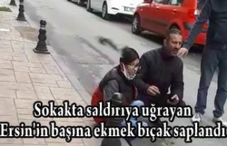 Sokakta saldırıya uğrayan Ersin'in başına...