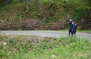Bartın'da ormanlık alanda kaybolan kişi 56 saat...