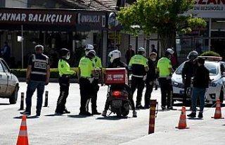 Çorum'da polisin sıkı denetimleriyle motosiklet...