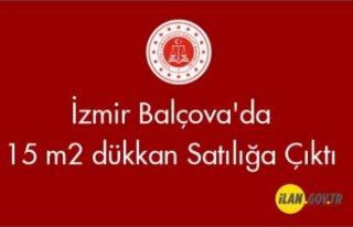 İzmir Balçova'da 15 m² dükkan Satılığa...