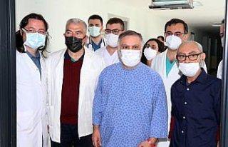 Lübnan asıllı kuzenlerin böbrek nakli Trabzon'da...