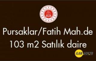 Pursaklar/Fatih Mah.de 103 m² daire satılıktır