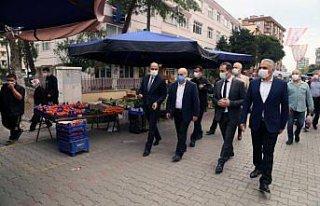 Samsun Valisi Dağlı, Kovid-19 önlemleriyle açılan...