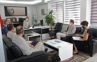 AB Büyükelçisi Meyer-Landrut, Sinop'ta ziyaretlerde...