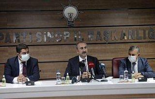 Adalet Bakanı Gül Sinop'ta konuştu: