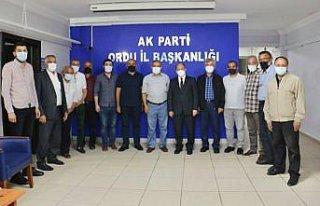 AK Parti Erzurum Milletvekili Akdağ'dan AK Parti...
