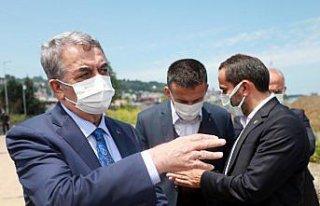AK Parti Genel Başkan Yardımcısı Yazıcı, Rize'de...